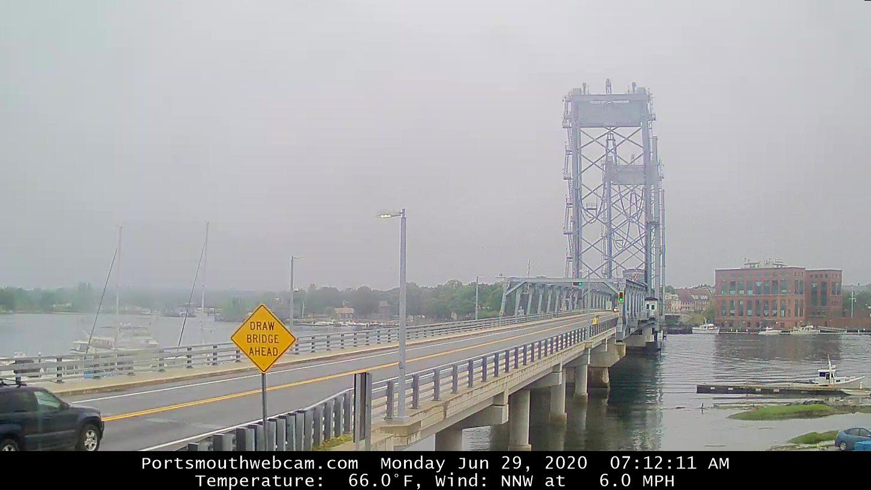 Веб камера Разводной мост