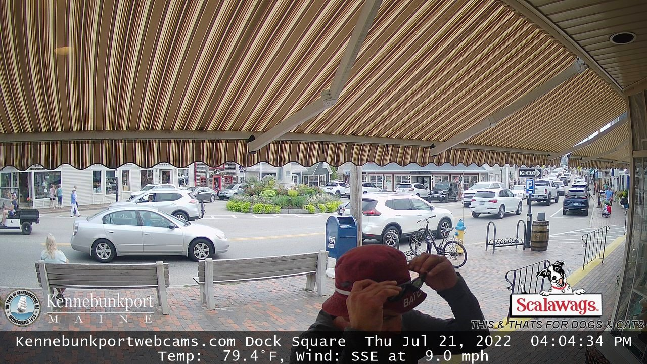 Dock Square Kennebunkport, Maine webcam