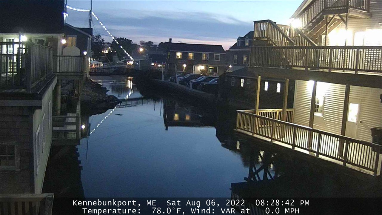Kennebunkport, Maine webcam
